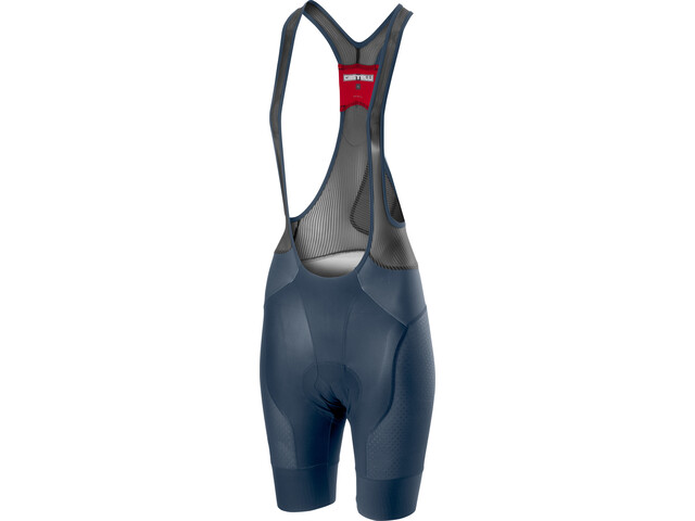 Castelli Free Aero Race 4 Bib Shorts Dames, dark/steel blue